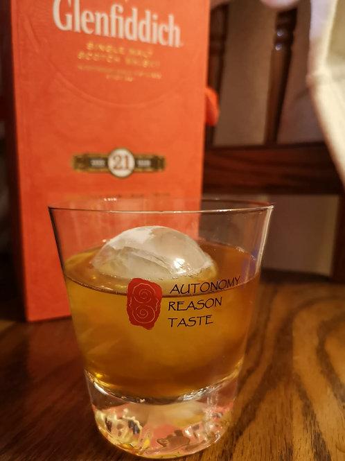 哲學威士忌杯