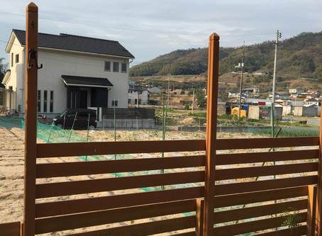 フェンス建設