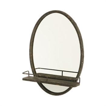 6MRM023 - Wall Mirror w/ Shelf