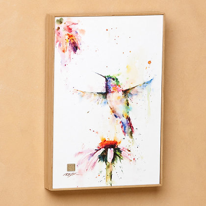 B5050131 - Peewee Hummingbird Watercolor Print