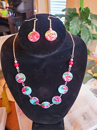 Fun Floral Bead Necklace