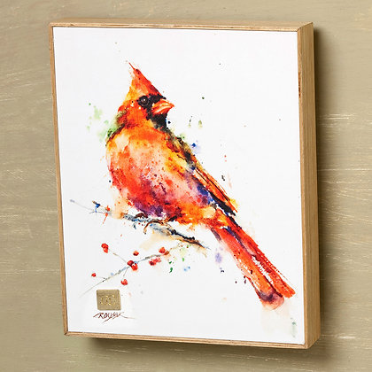 B5050134 - Cardinal Watercolor Print