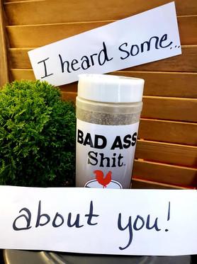 Bad Ass Shit Seasoning