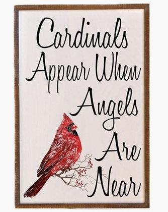 GW019 - Cardinals Appear Sign
