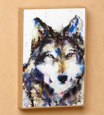 B5050139 - Traveler Wolf Wall Art