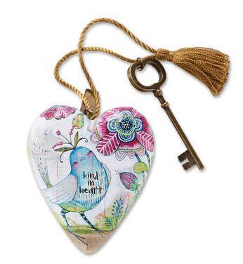 """1003480030 - """"Kind In Heart"""" Art Heart"""