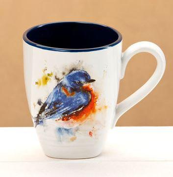 B5050122 - Bluebird Mug