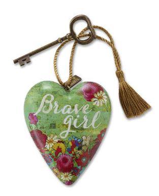 """1003480001 - KRR """"Brave Girl"""" Art Heart"""