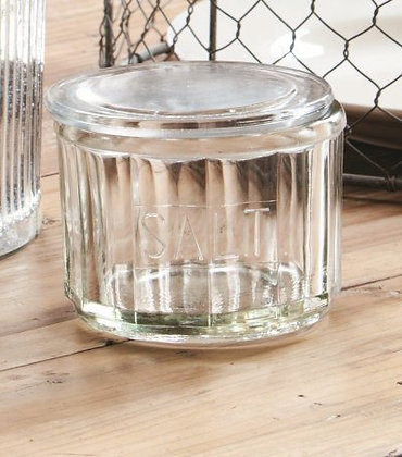 CL097 - Glass Salt Jar