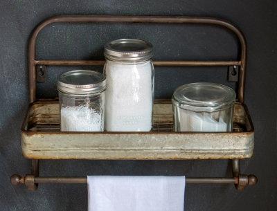 FH4435 - Cookhouse Towel Rack w/ Shelf