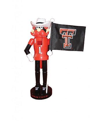 """TXR092 - 12"""" Texas Tech Nutcracker"""