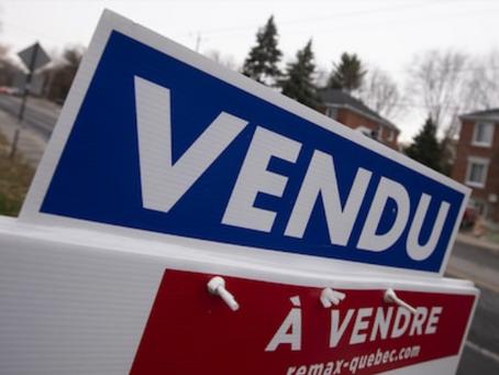 Février 2021 : Inventaire des maisons à vendre à la baisse