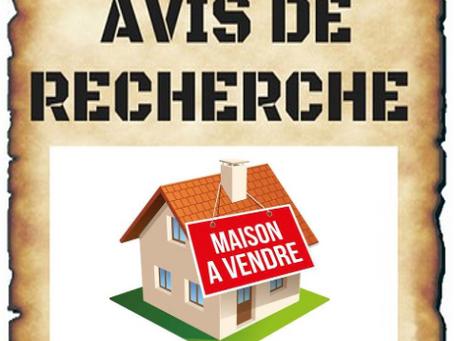 Mercier - Avis de recherche : Maison à vendre