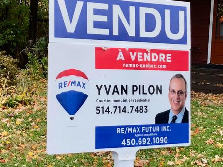 Le marché immobilier se porte très bien à Châteauguay !