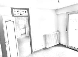 Dessin d'une chambre de la Résidence Habitat Jeunes (FJT) de saint-dié des vosges