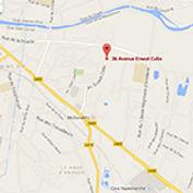 carte google map de la résidence habitat jeunes