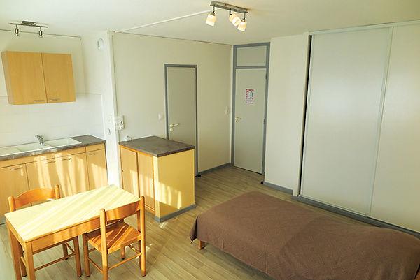Studio de la résidence habitat jeunes saint-dié