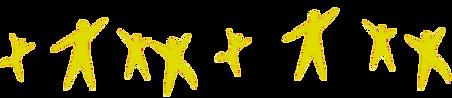 Bande de personnages de la Résidence Habitat Jeunes (FJT) de saint-dié des vosges