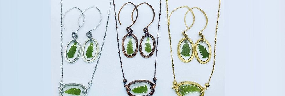Emerald Fern Set