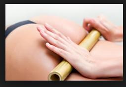 Le massage au bambou