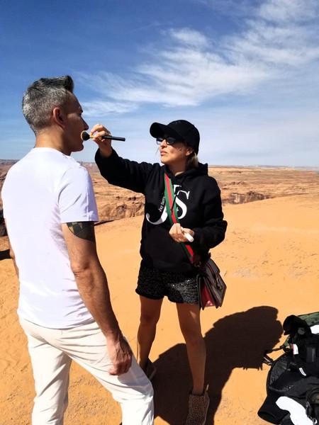 Recuerdos de Arizona shooting mi video de Scars.