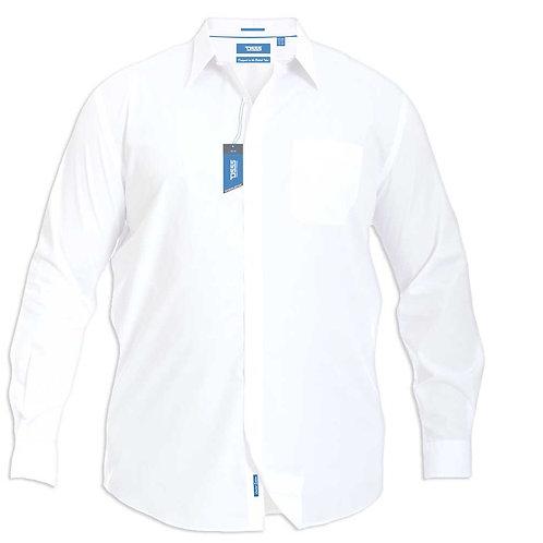Aiden Long Sleeve Classic White Shirt