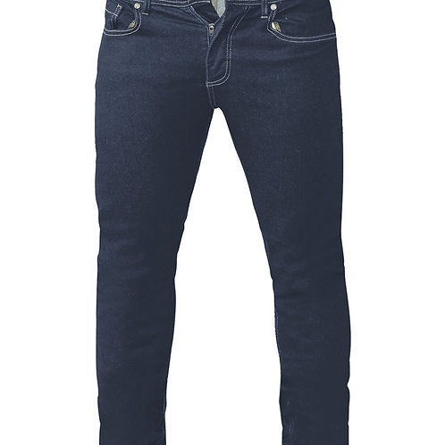 Cedric Tapered Fit Extra Stretch Indigo Jeans
