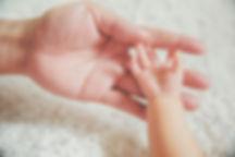 Hand on Bump