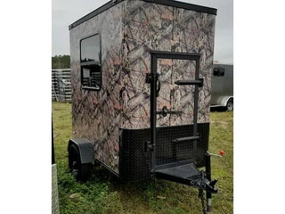 Hunting Blind Camo Trailer