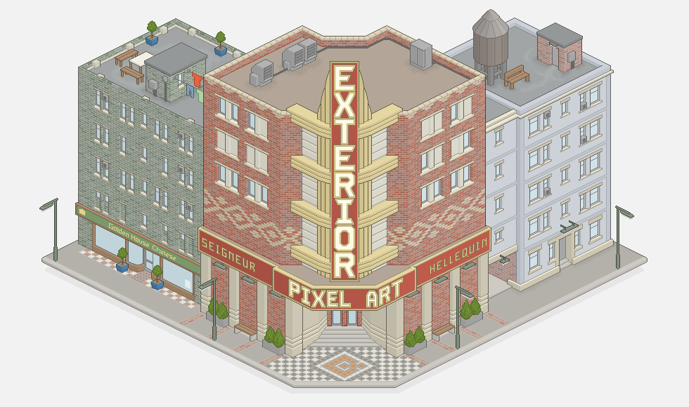 Exterior Pixel Art