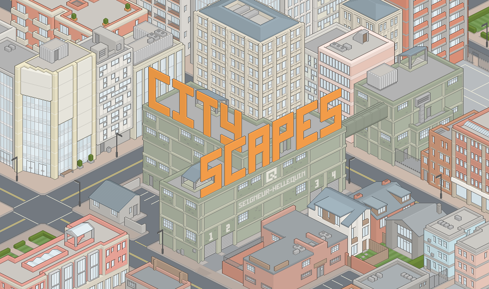 Isometric Pixel Art Cities