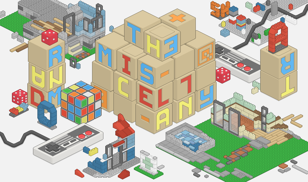 Miscellany Gallery Lego Nintendo and Rubiks
