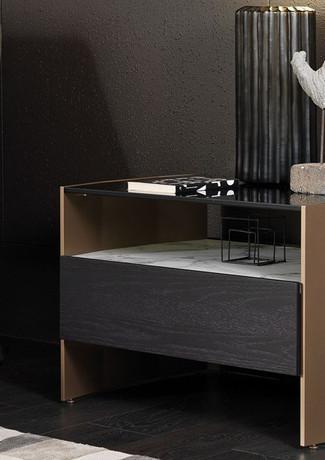 Milvian Bedside Unit drawer