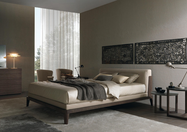 Assuan Wooden Headboard Bed Frame