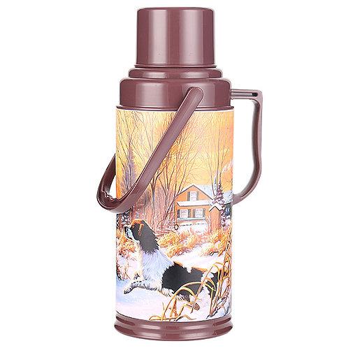 Термос Забава РК-3204 стекло обьем 3,2л Охота