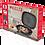 Thumbnail: Сковорода Kelli KL-4074-30 цвет Черный турбогриль двойная мрамор