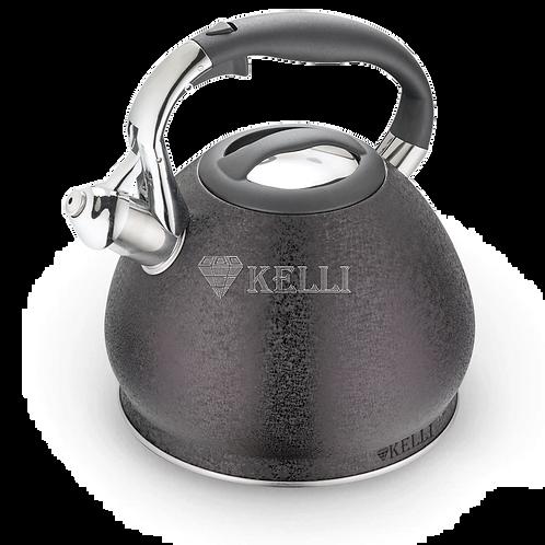 Чайник Kelli KL-4515 нержавейка 3л.