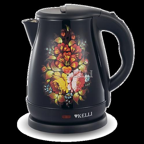 Чайник Kelli KL-1342 нерж 1.8л диск