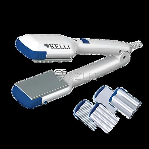 щипцы-гофре Kelli KL-1204 4 насадки алюмин.пласт