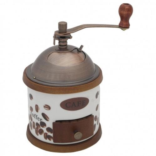Кофемолка Zeidan Z-1197 ручная корпус дерево керам механизм