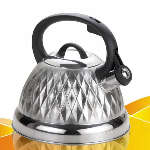 Чайник WEBBER BE-0596 обьем 2,7л со свистком