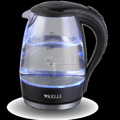Чайник Kelli KL-1483 стекло обьем 1.7л
