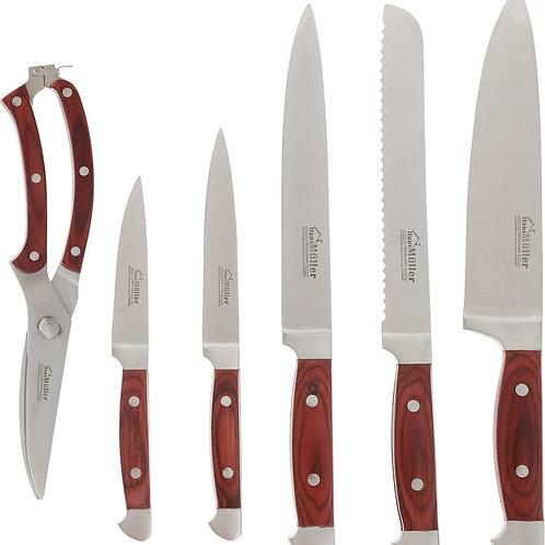 Набор ножей Haus Muller HM-2019, 7 предметов