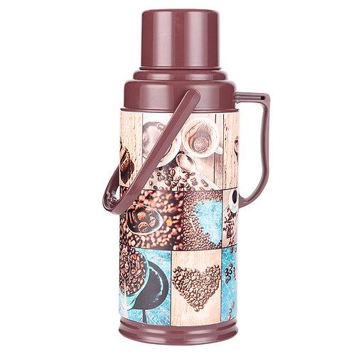 Термос Забава РК-3205 стекло обьем 3,2л Кофе