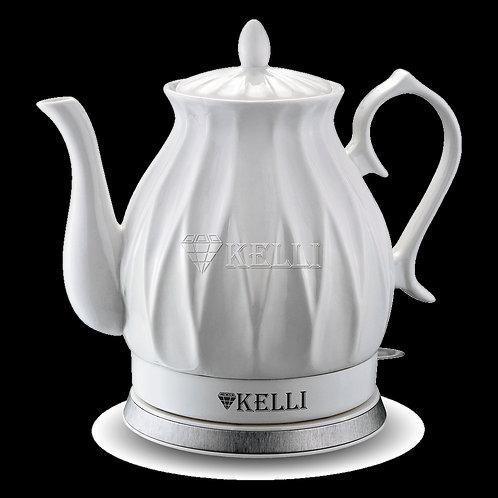 Чайник Kelli KL-1341 2л керамический защита от перегрева