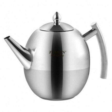 Заварочный чайник Zeidan Z-4274 нерж.сталь 1000мл съёмный фильтр