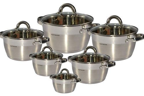 Набор посуды Hoffmann HM 5814  12 предметов