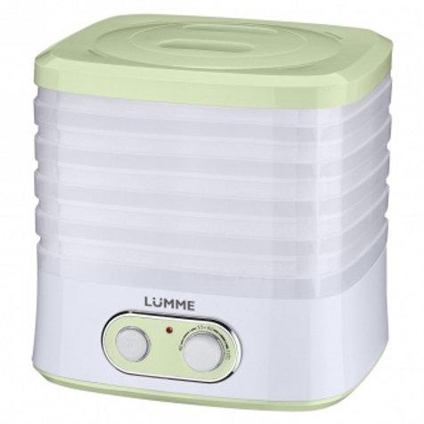 Сушка LUMME LU-1853 зеленый нефрит 250Вт 5 поддон обьем 8л