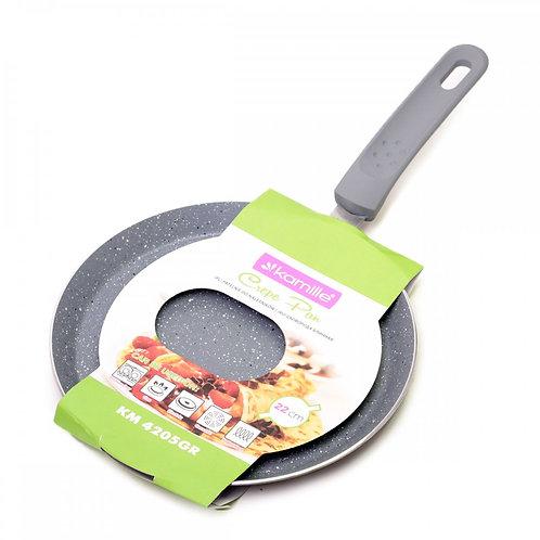 Блинная сковорода Kamille KM-4205GR 22 см