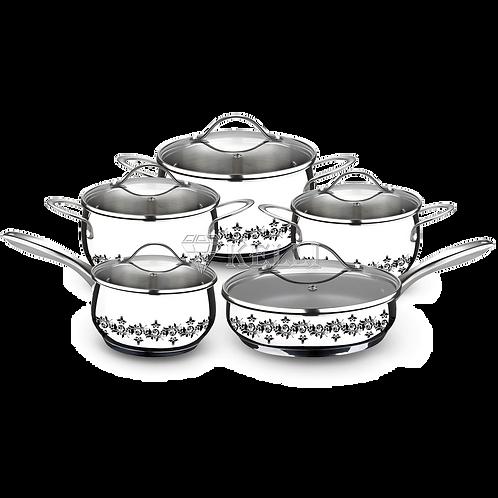 Набор посуды Kelli KL-4250 10 пр